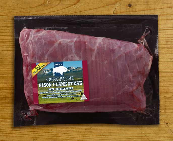 Great Range Bison Flank Steak