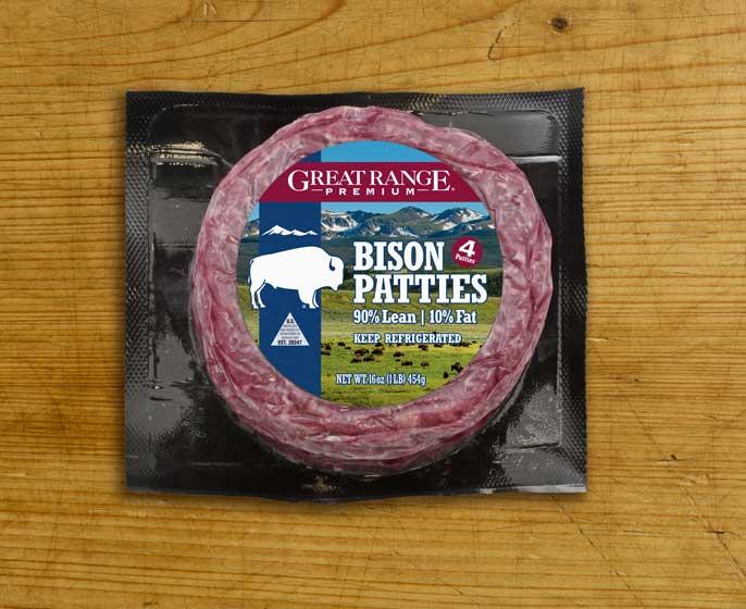 Great Range Bison Patties