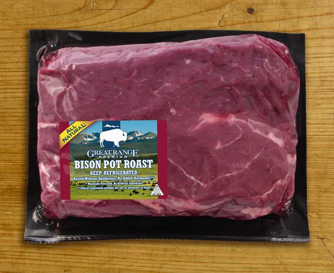 Great Range Bison Pot Roast