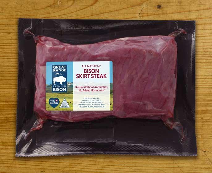 Great Range Bison Skirt Steak