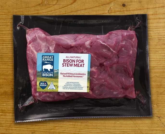 Great Range Bison Stew Meat