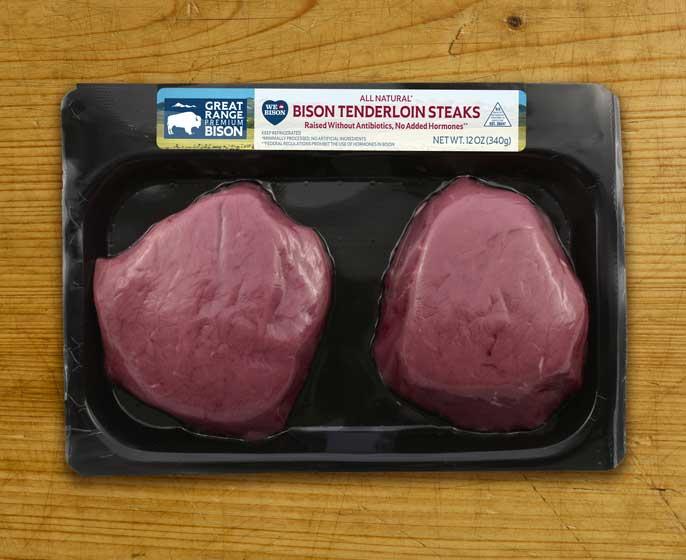 Bison Tenderloin Steaks