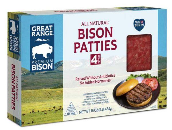 Bison Patties Box