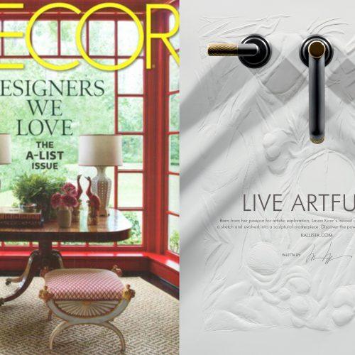 design, elle decor, laura kirar, kallista, paletta, faucets