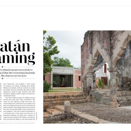 yucatan, dreaming, laura kirar, design, mexico, travel, inspiration, hacienda, kallista, prestige, hong kong, magazine