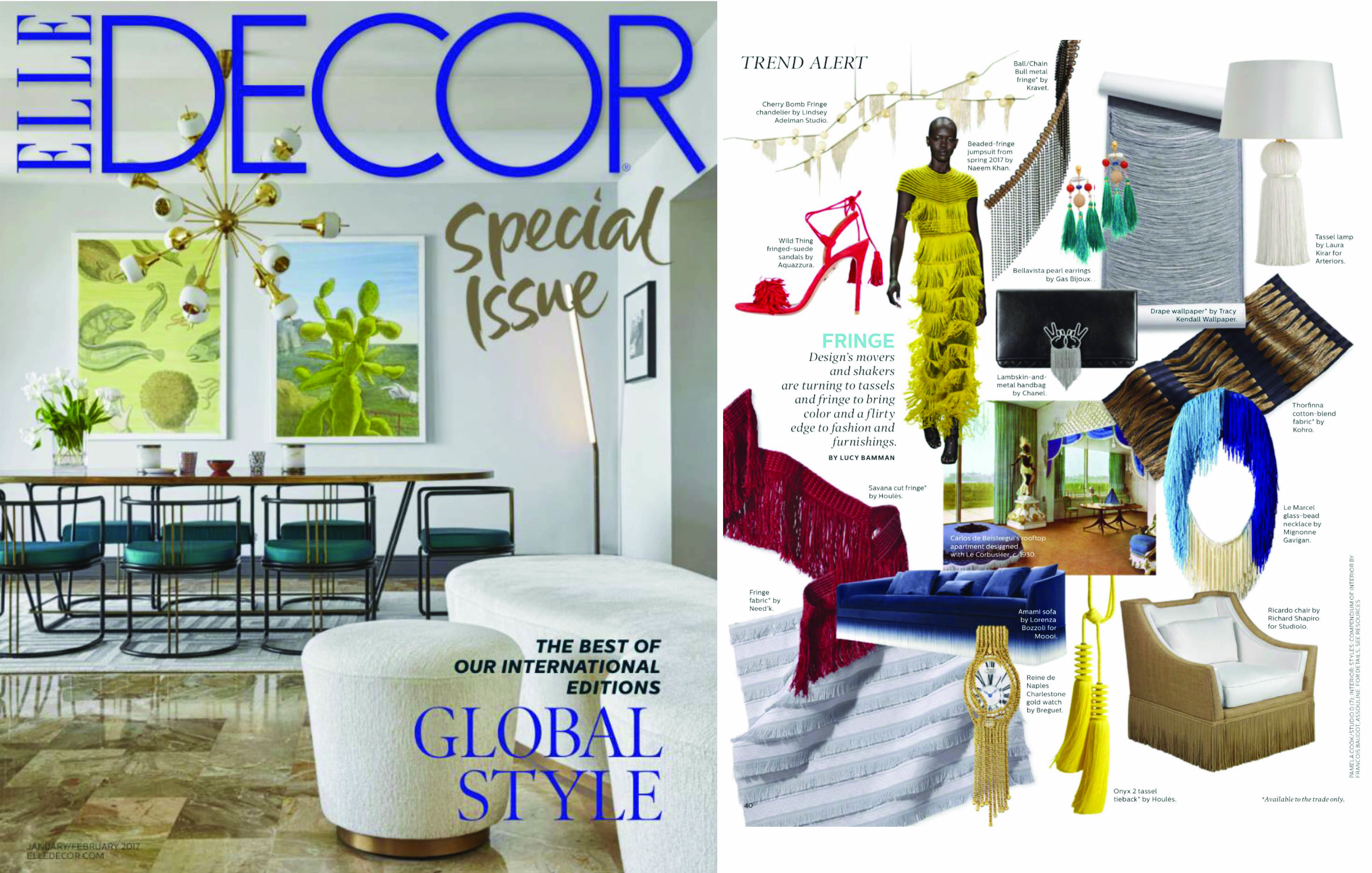 trend, alert, tassel, lamp, arteriors, laura kirar, design, home accessories, lighting