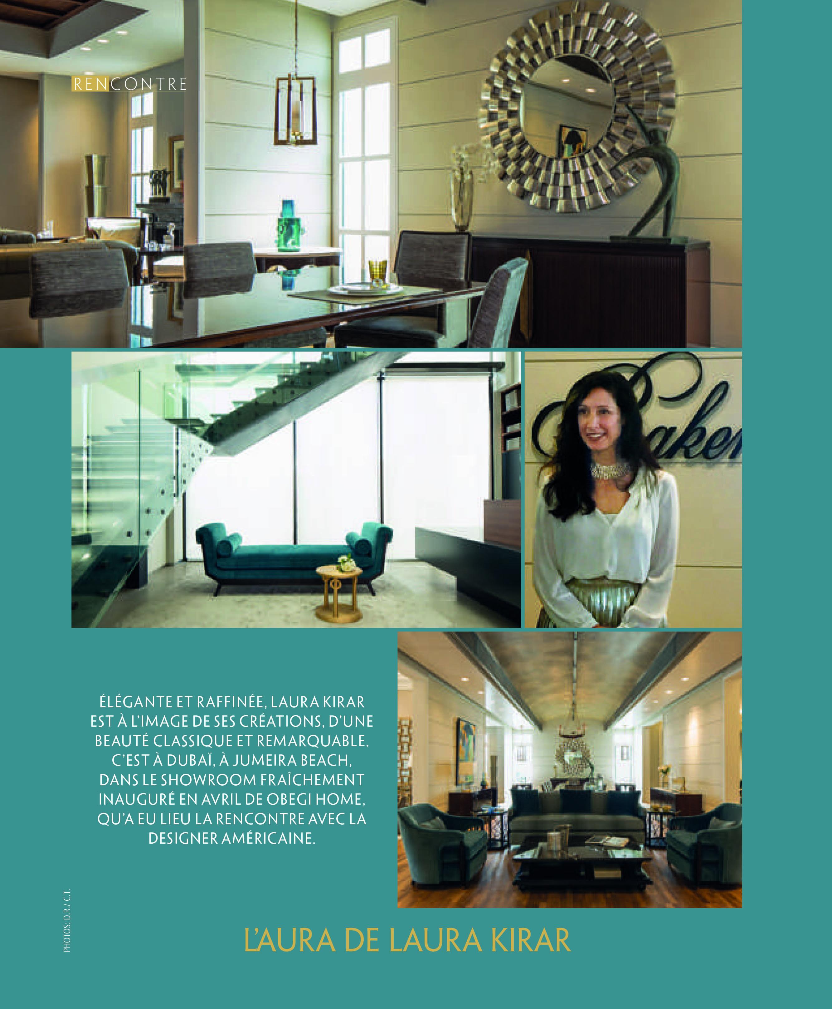 laura kirar, baker furniture, product design, interior design, middle east, lebanon, deco magazine, architecture
