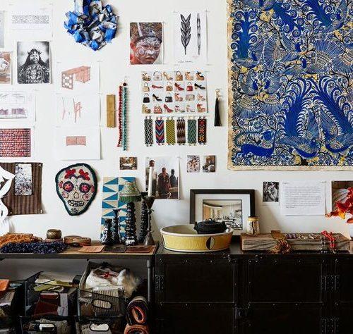 laura kirar, inspiration, old school, blog, mood board, mood wall, design, interior design, mexico