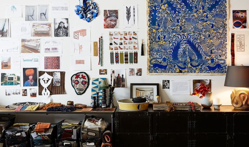 laura kirar, inspiration, old school, blog, mood board, mood wall, design, interior design, mexico