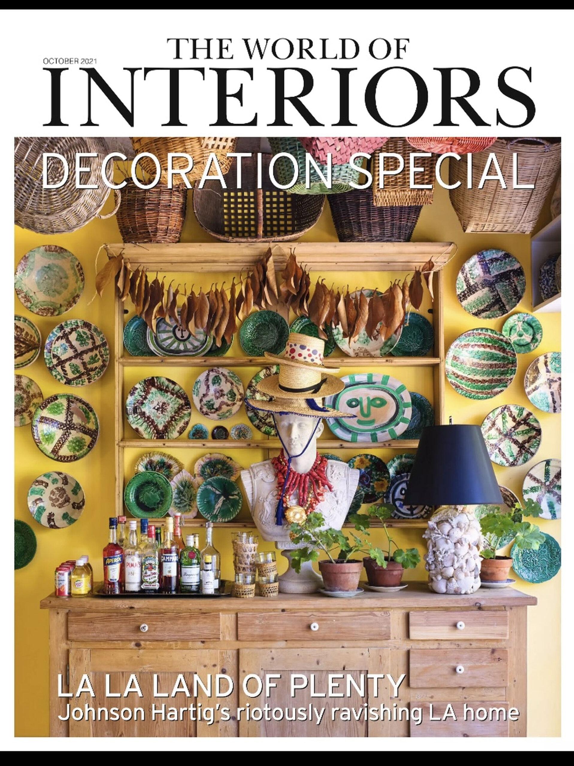 World of Interiors, October 2021