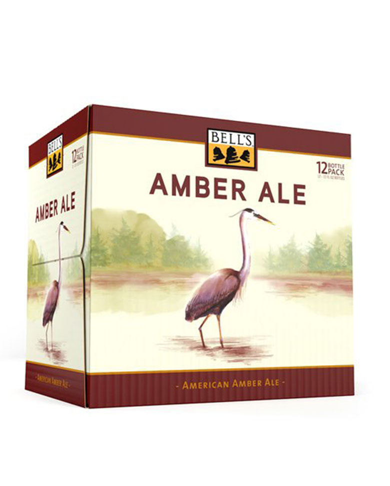 Image of Bell's Amber Ale case Illustration by Kate Spiess