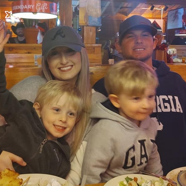 Brian Nuttall Jr. and family