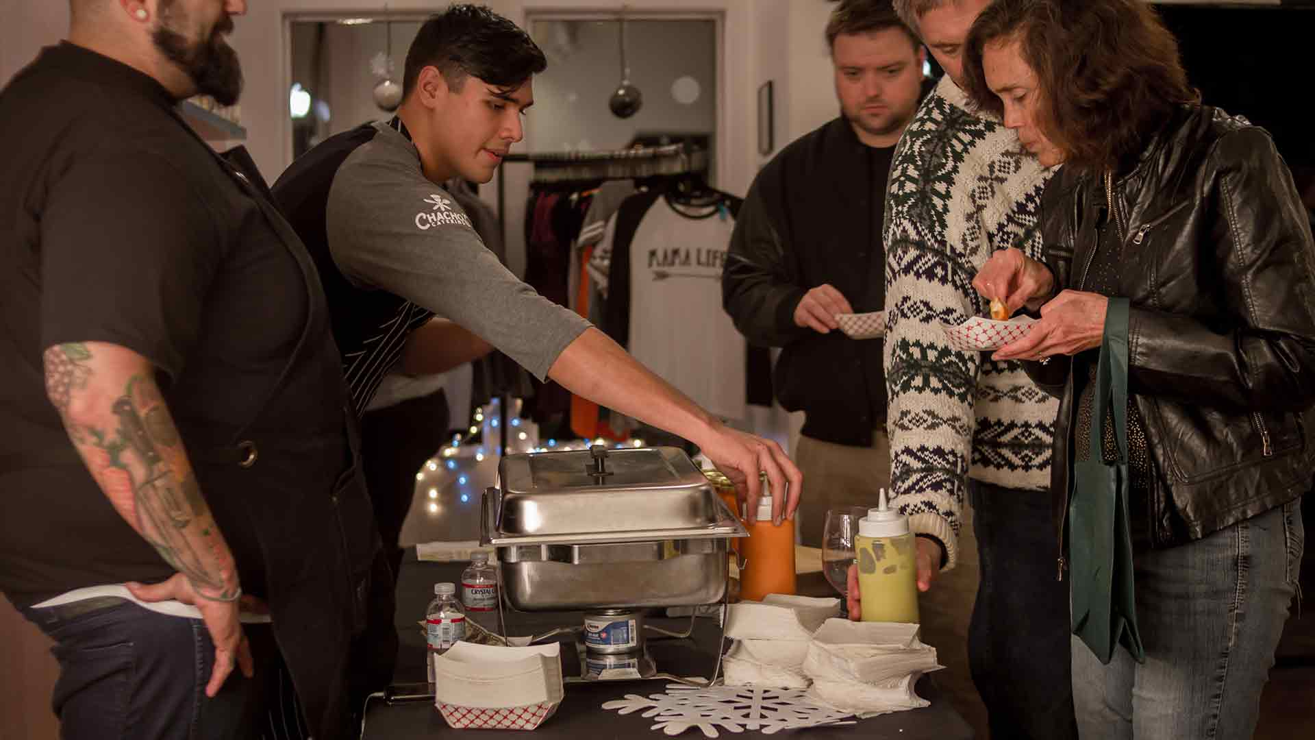 Chacho's Catering at Winter Wine Walk