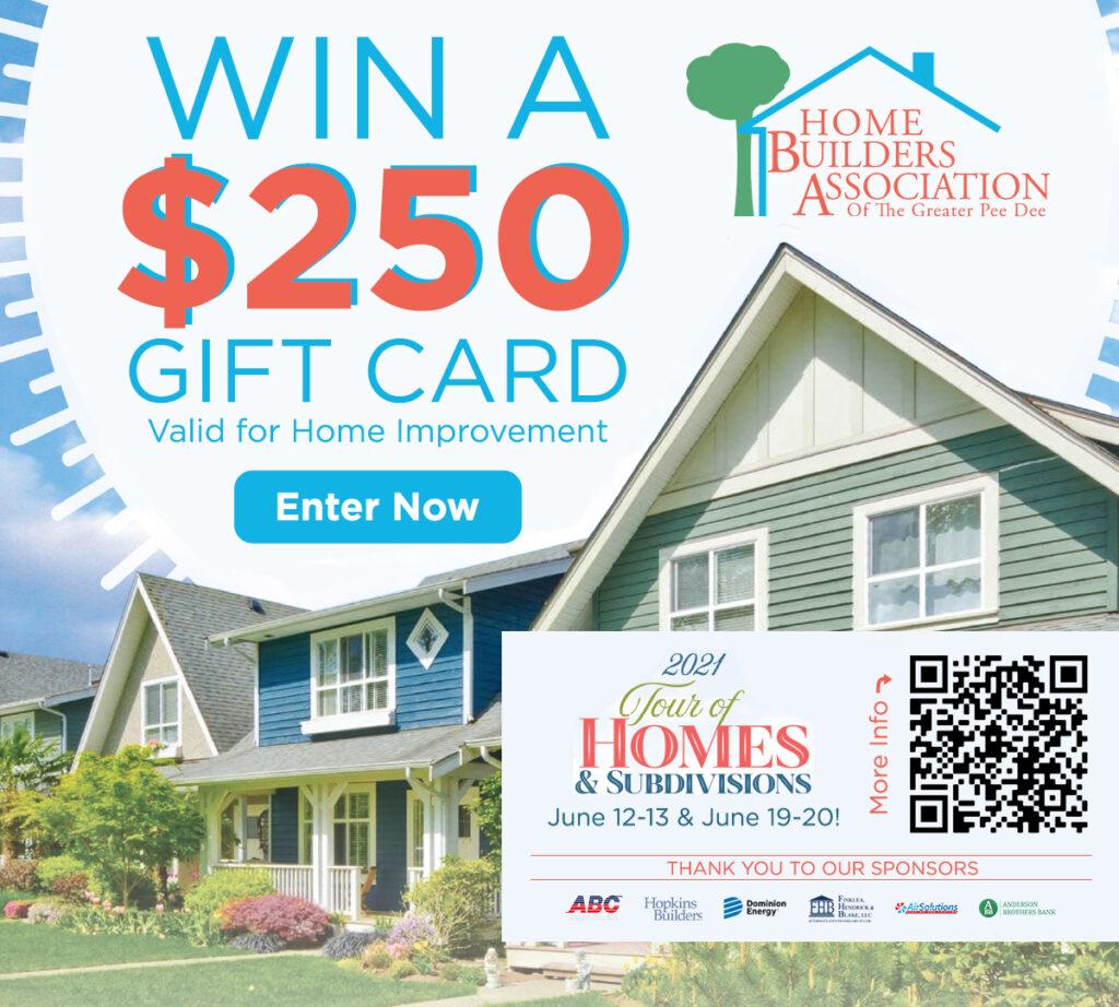 Win a $250 Gift Card!