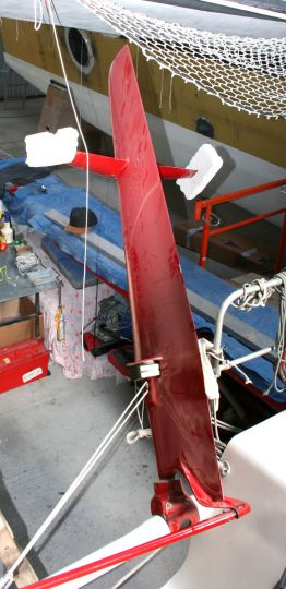 Mini 6.50 Foil rudder