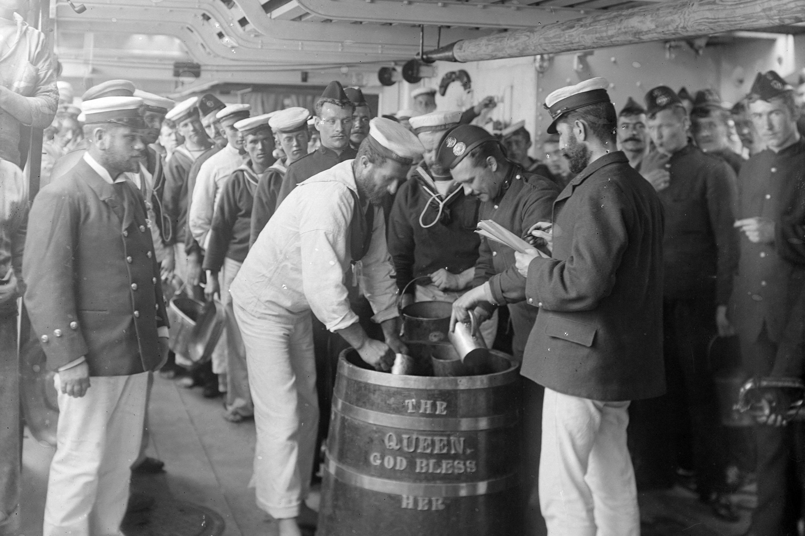 Cosa bevevano i marinai