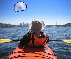 Aquilone per kayak e pesca in kayak