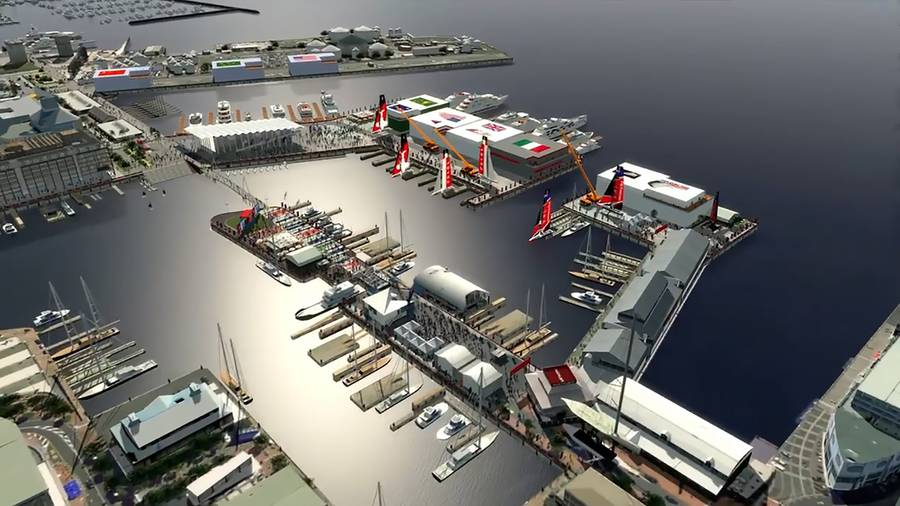 America's cup base