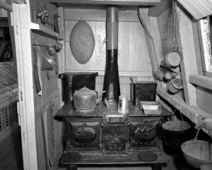 Cucina a bordo di una nave
