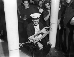 gatto in barca
