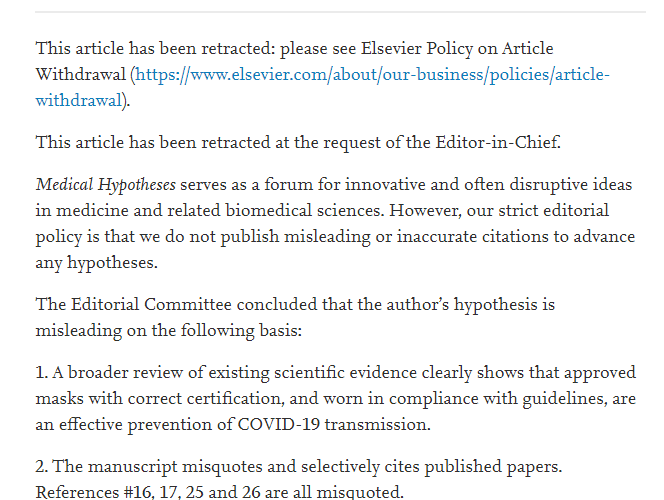 """""""We are in a medical totalitarian state"""": Science articles that dispute government are now 'retracted' by the editors"""