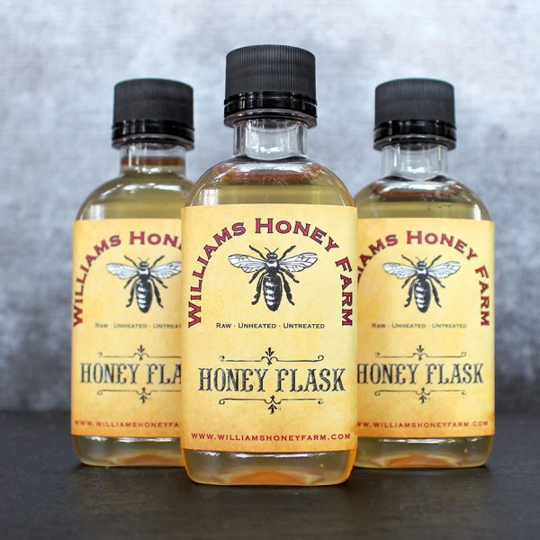 Honey Flask from from Raw Honey