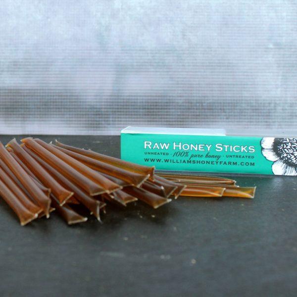 Honey straws, honey sticks