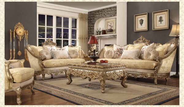 French Provincial Living Room # 2626