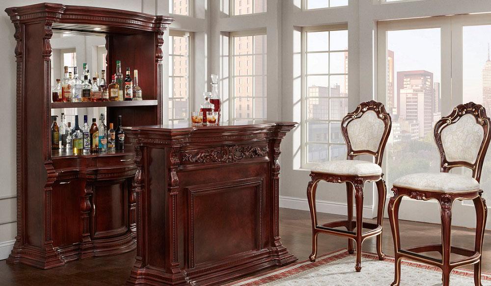 Victorian Bar & Bar Stools