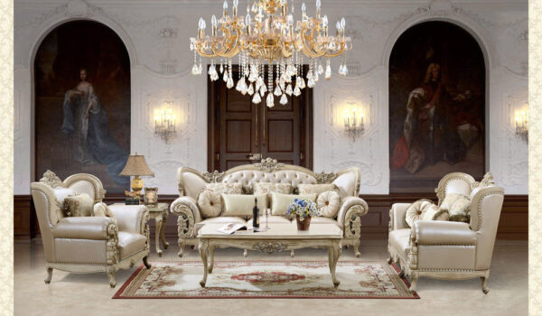 French Provincial Living Room # 9103