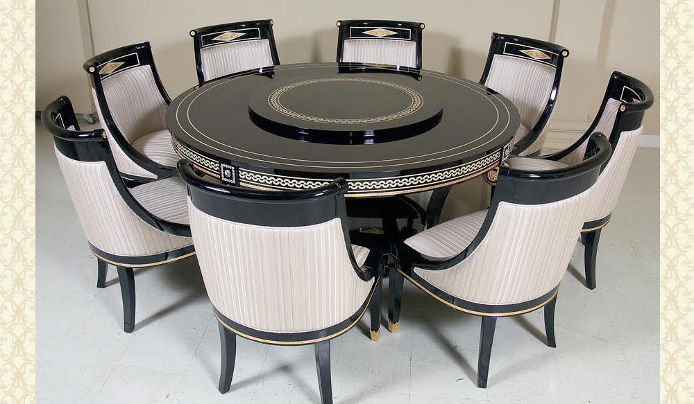 Swarovski Collection Round Dining Table