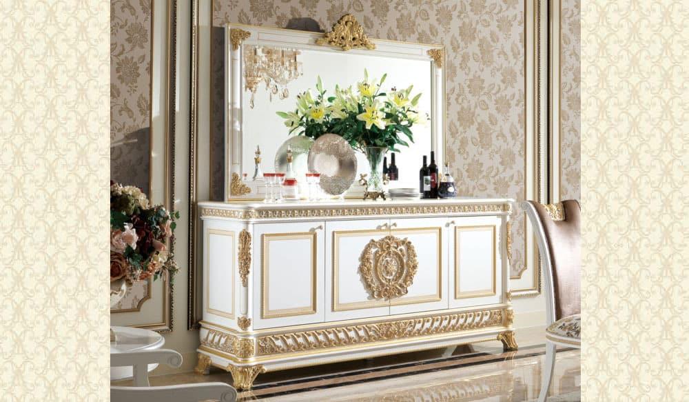 Classico Sol Collection Buffet & Mirror S62