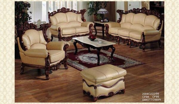 Leather Living Room 2084
