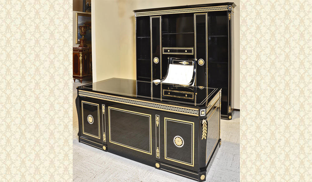 Swarovski Collection Desk & Credenza