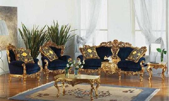 Victorian Eolo Living Room