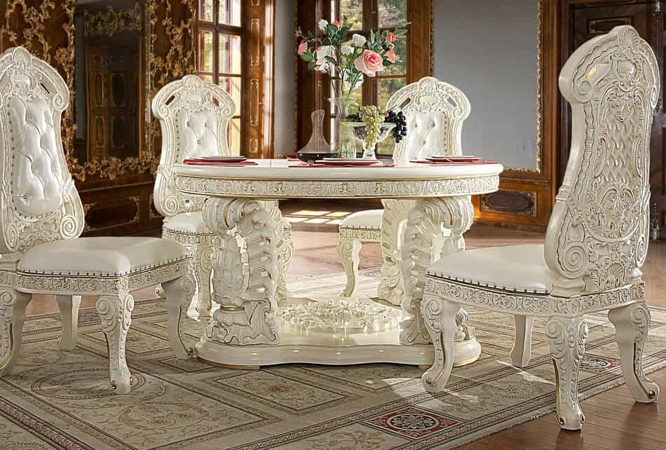 Victorian Round Dining Room 8089