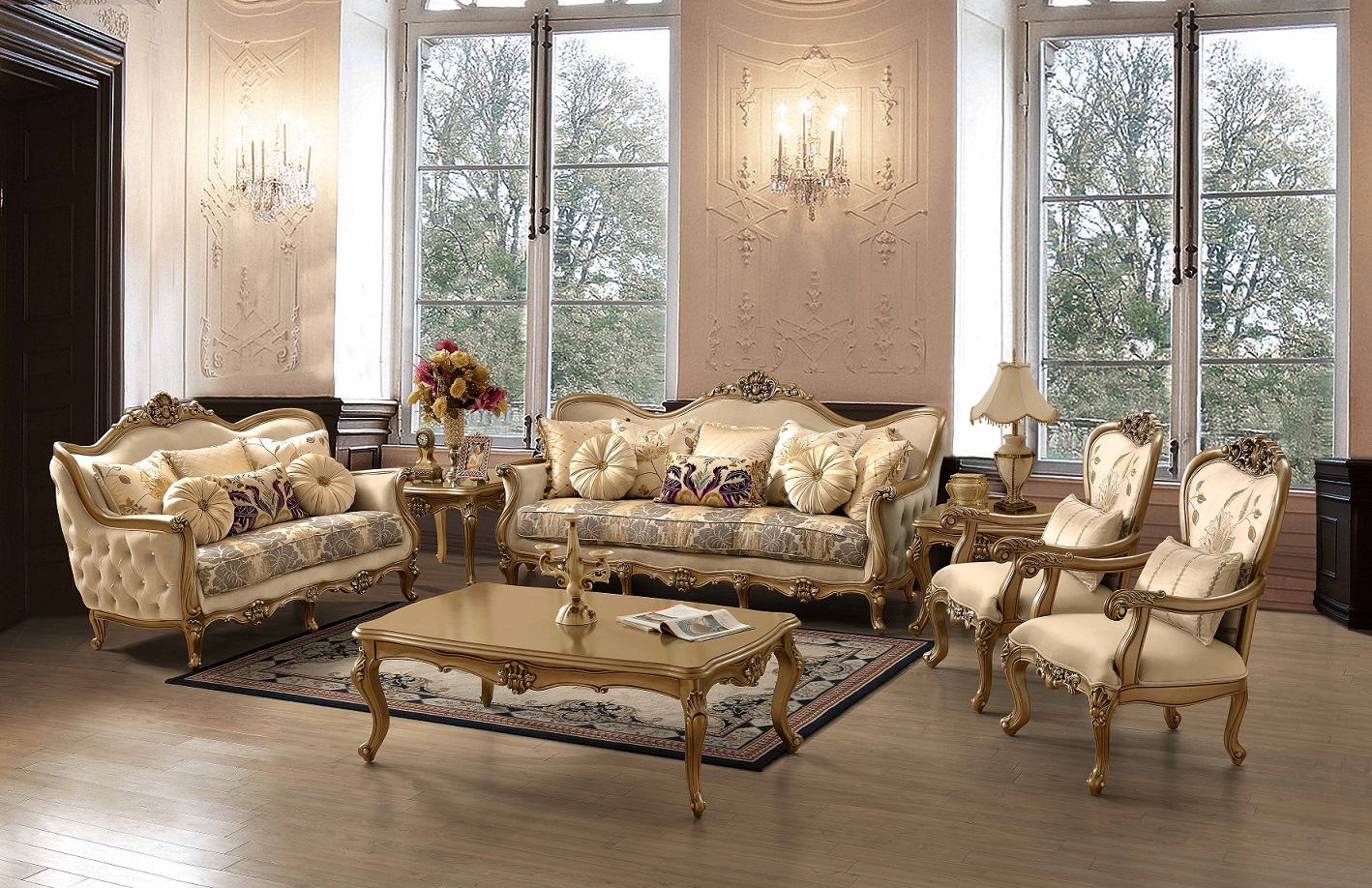 Victorian Living Room G-606