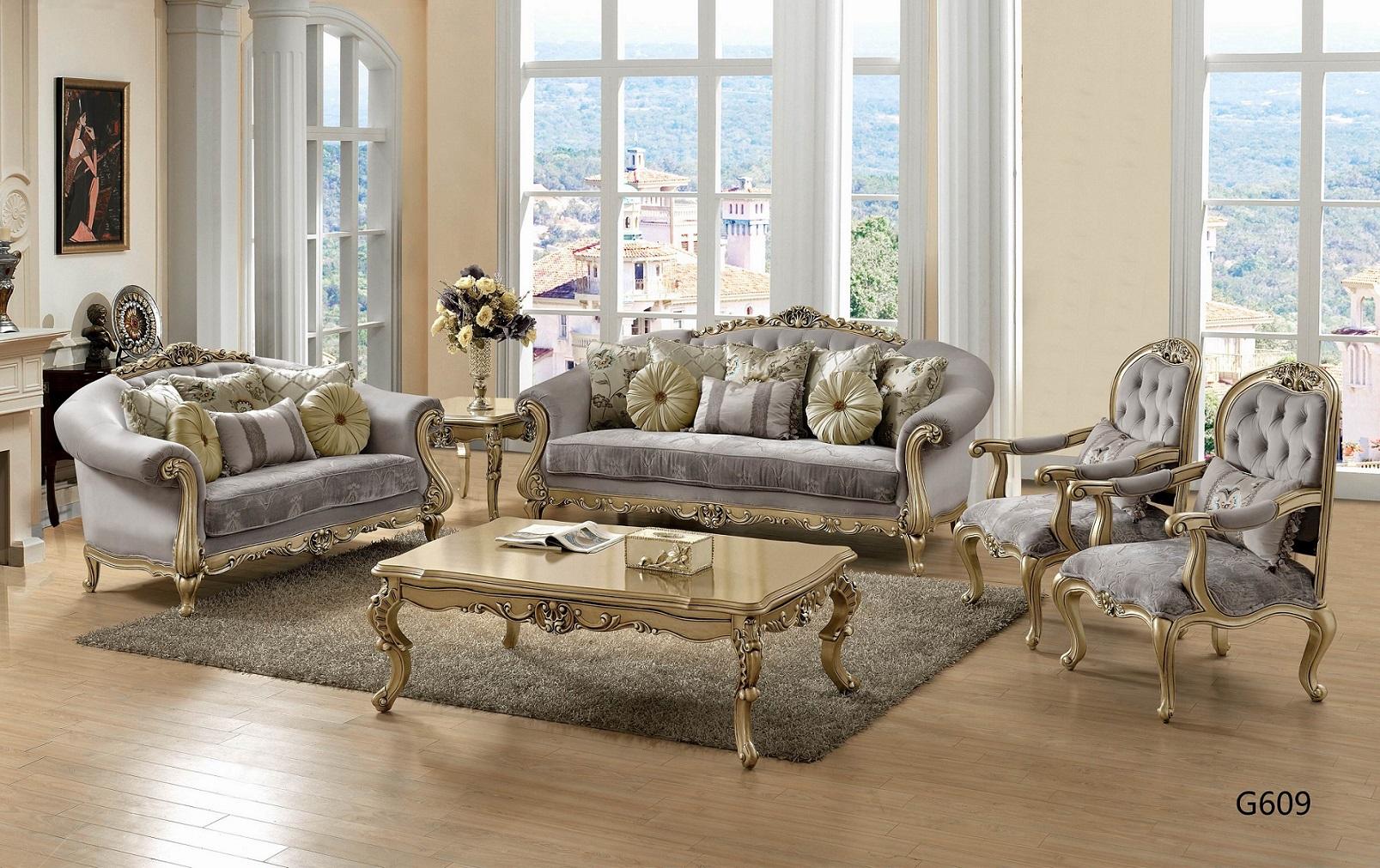 Victorian Living Room G-609