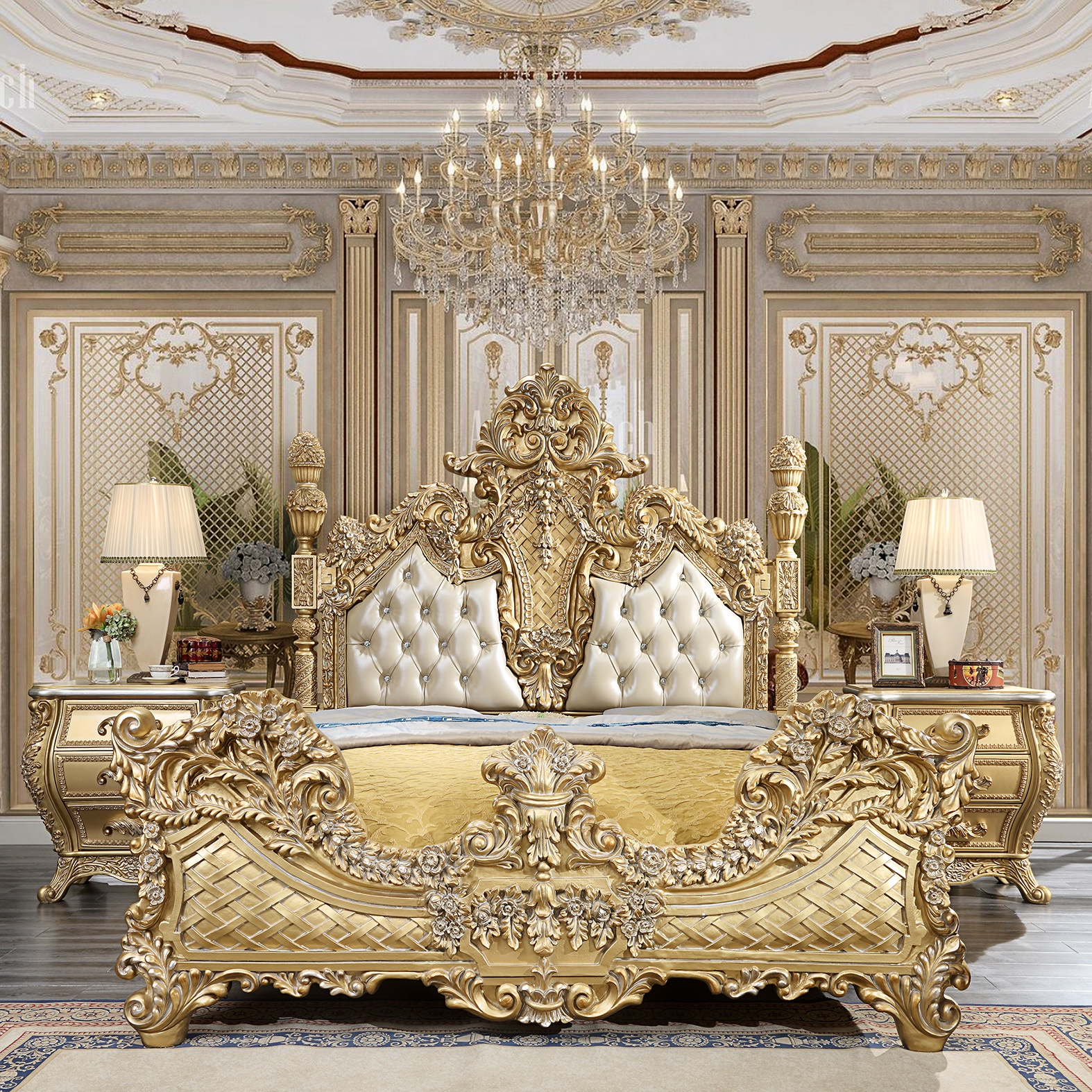 French Provincial K-1801 Bedroom