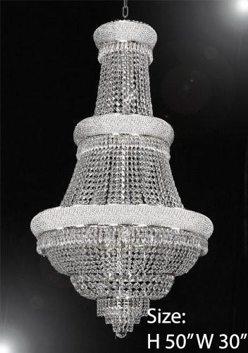 French Provincial Silver Chandelier