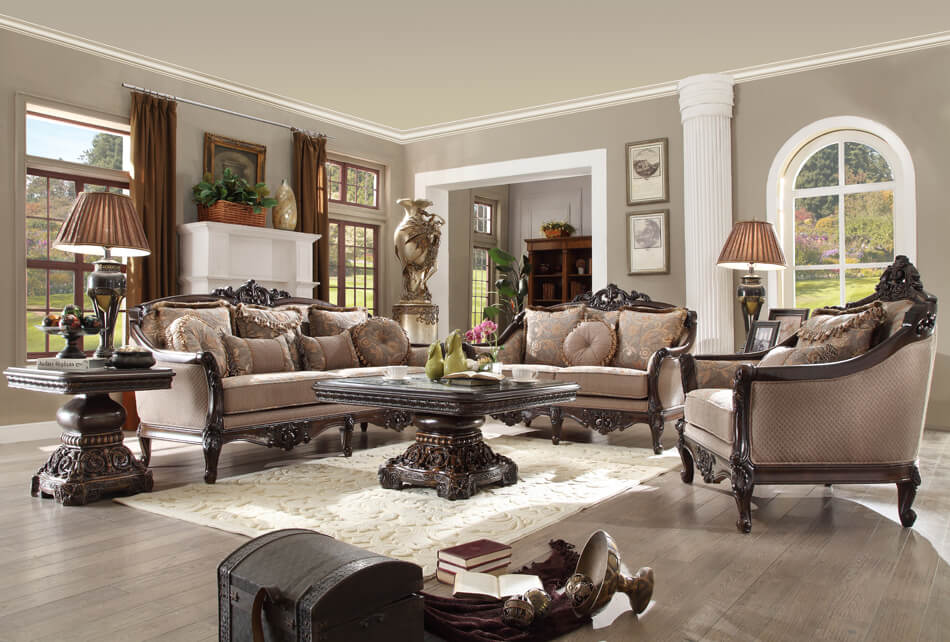 French Provincial Living Room 09