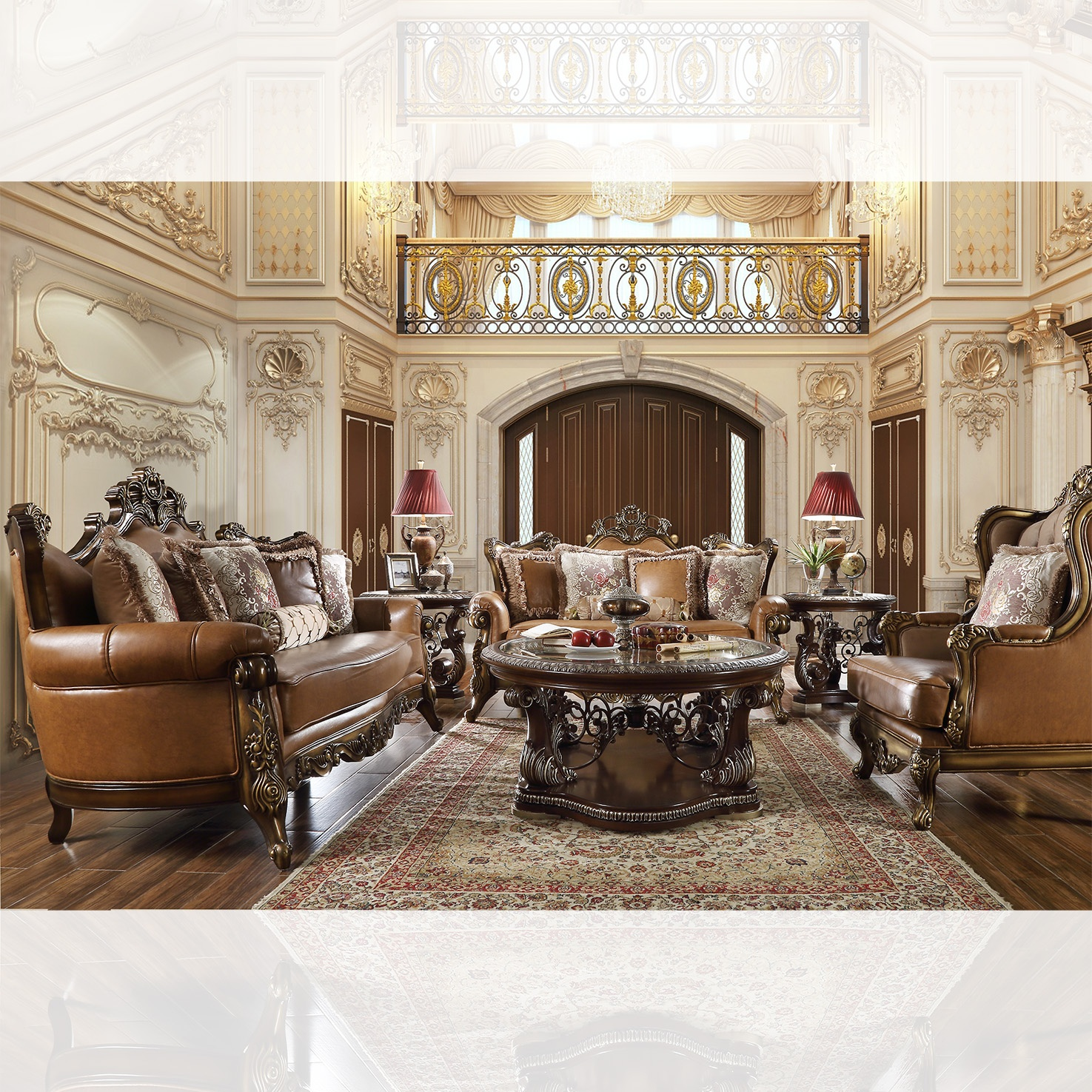 French Provincial Living Room # 555
