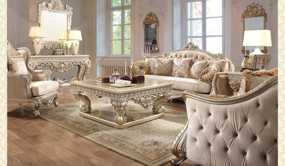 French Provincial Living Room 661