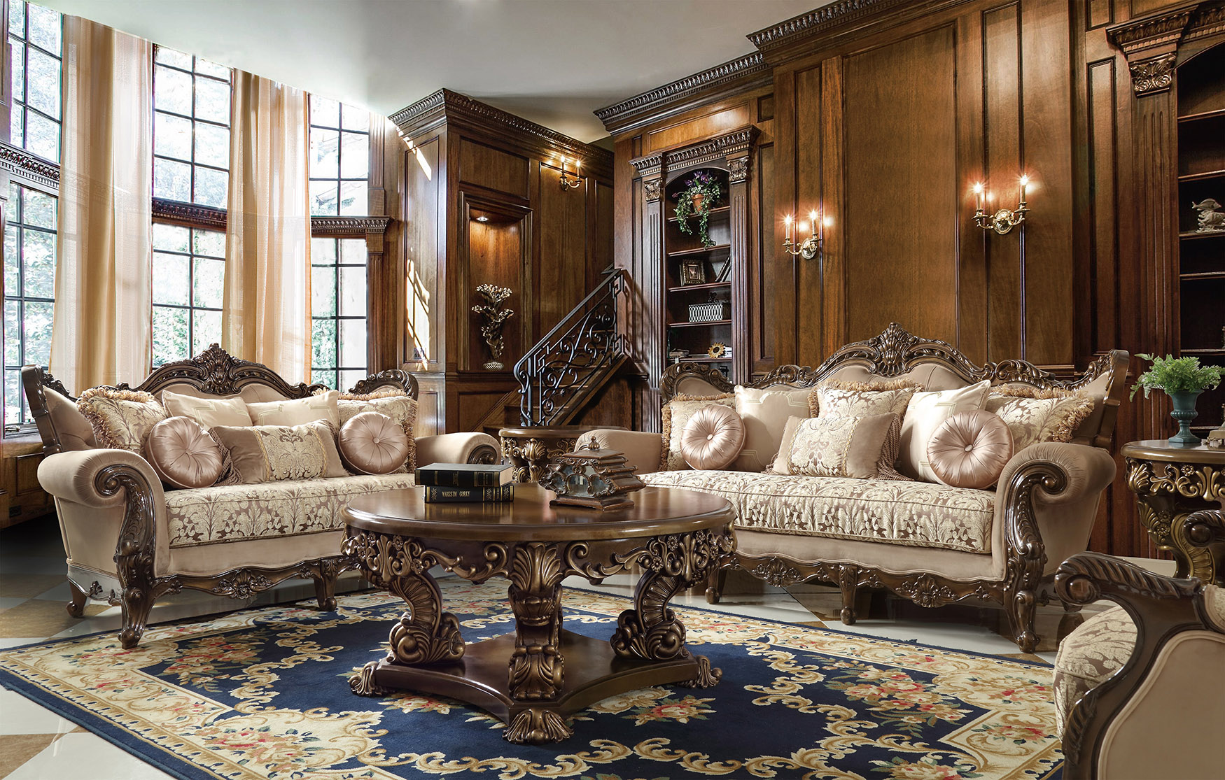 French Provincial Living Room # 6935