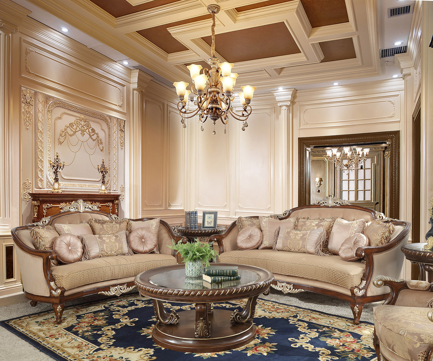 French Provincial Living Room # 8320