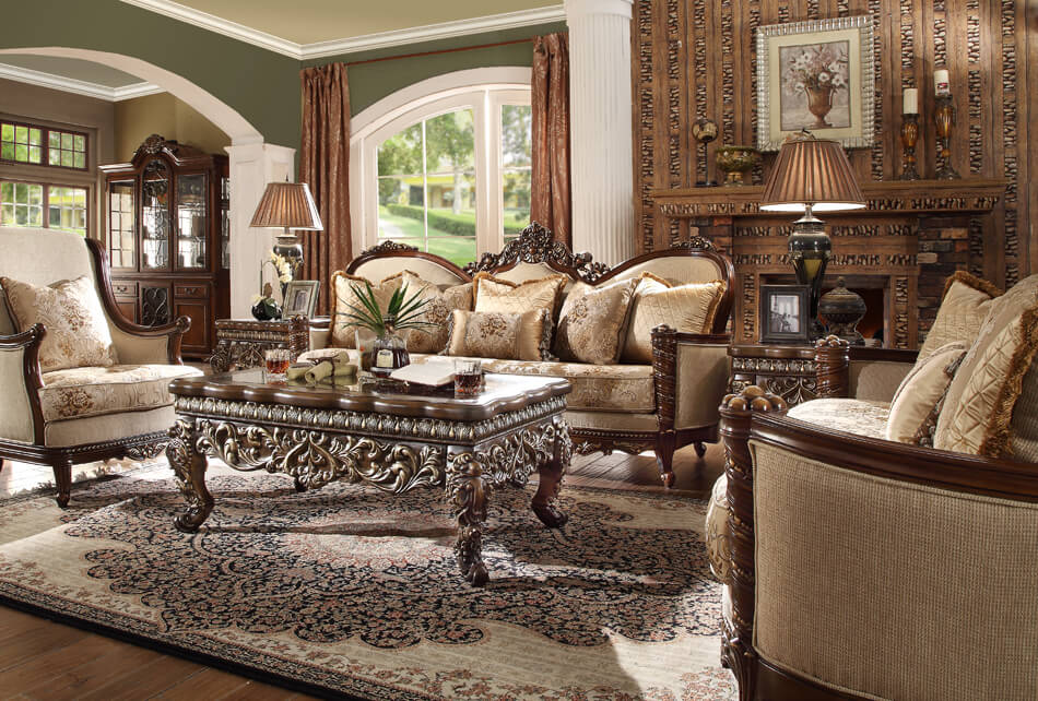 French Provincial Living Room # 92