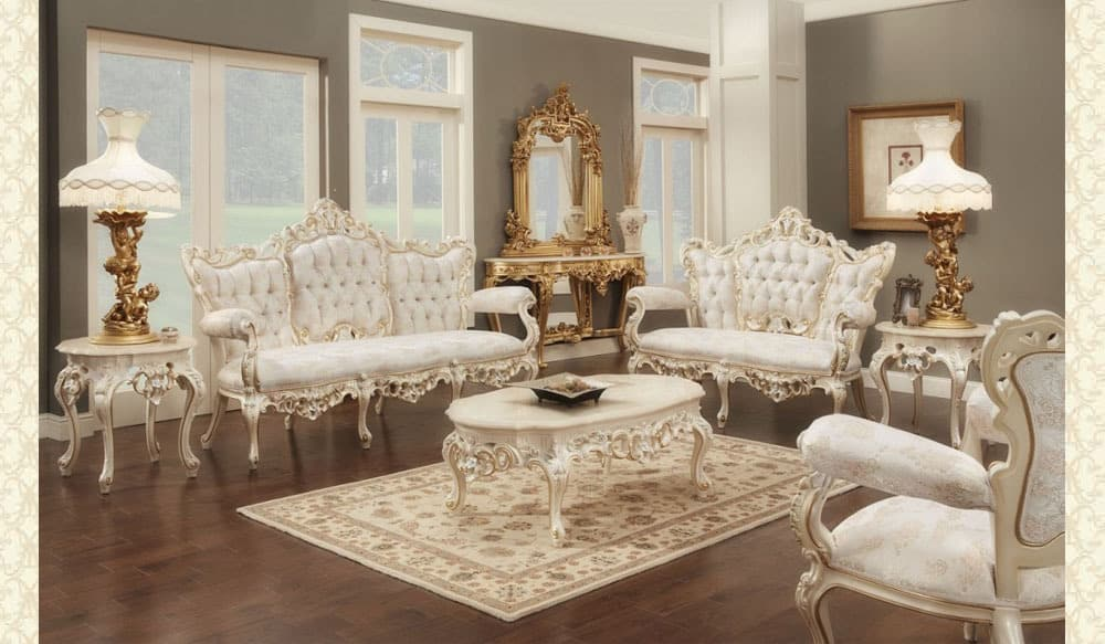 Victorian Living Room 611