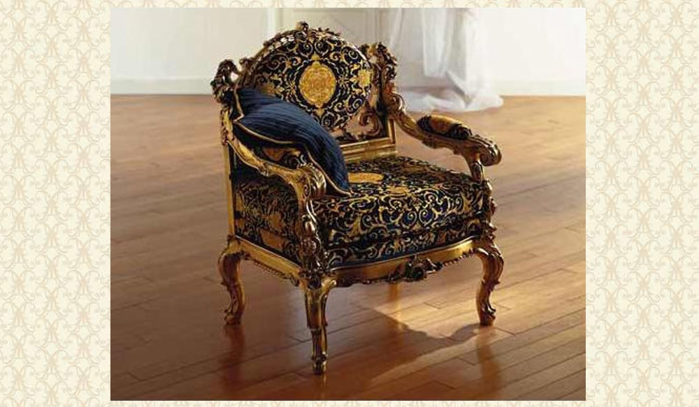 Victorian Dedalo arm Chair