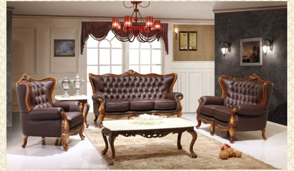 Leather Living Room 995