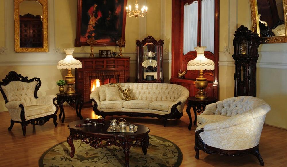 Victorian Living Room 644